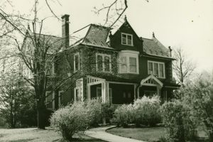 Gabriel House, circa 1942.