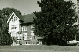 Rear view of the Bernheim House, circa 1960