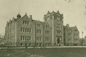 Administration Building (now Ettinger Building), circa 1910.