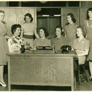 Female staff at Muhlenberg, circa 1940