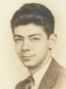 Wilmer Cressman yearbook photograph.