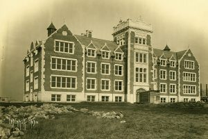 Science Building (now Trumbower), circa 1926.